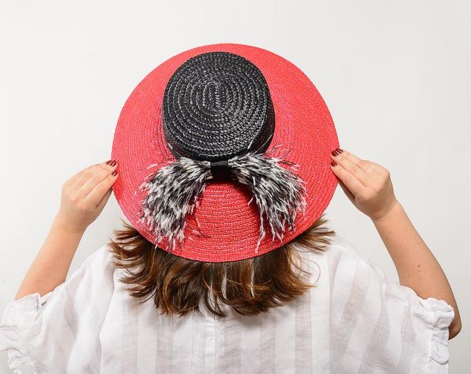 Straw hat, wide brim hat, beach hat, kentucky derby hat, sun hat, summer hat, beach cover up, summer hat women, hats races, women straw hat
