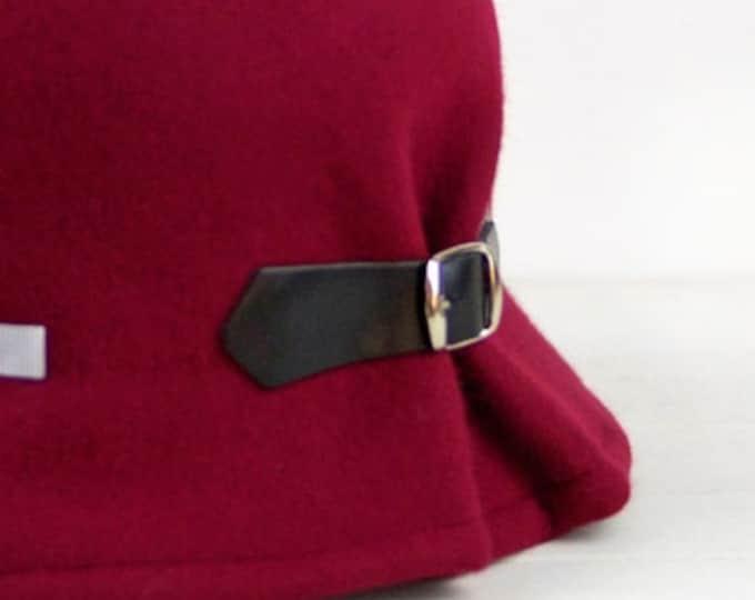 1920s women cloche hat woman, felt hat cloche, 1920s gatsby hat, winter wool felt hat, gift christmas wife