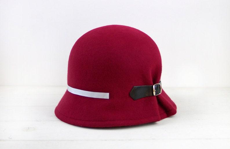00da6e3be 1920s women cloche, 1920s flapper hat, 1920s gatsby hat, 1920s cloche hats,  felt cloche hat, winter wool felt hat, gift christmas wife