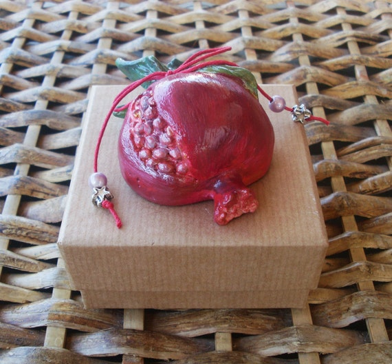 POMEGRANATE - Pomegranate Decor - Pomegranate Gift - Ceramic - Ceramic Pottery - Home Decor - Home Decoration