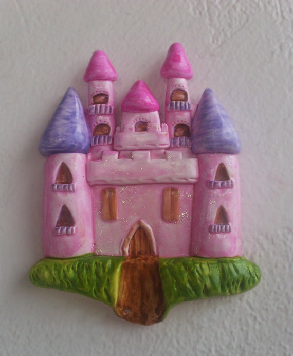 Little Princess Castle -  Little Princess Castle Decor - Little Princess Castle Gift - Ceramic - Ceramic Pottery - Home Decor - Wall decor