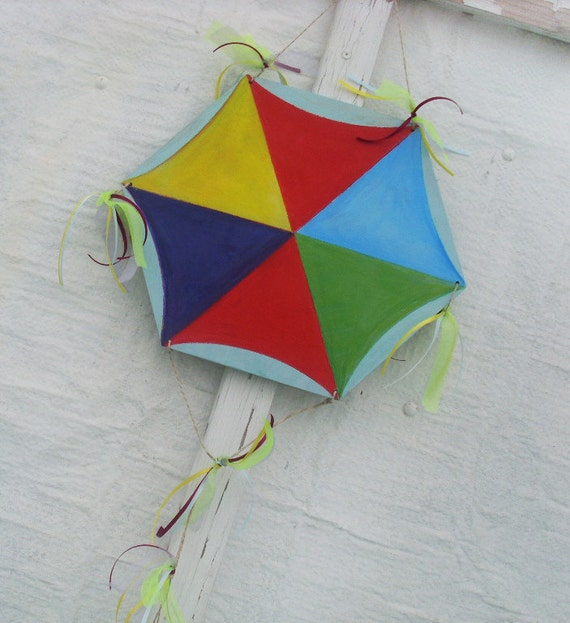 Flying Kite - Home Decor - Kite - Wooden Kite - Wall Hanging - Wooden Wall Hanging