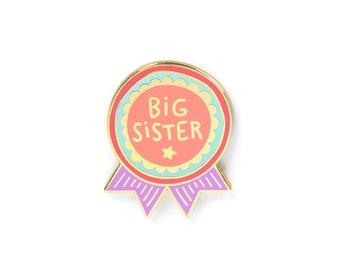 Big Sister enamel pin