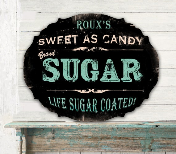 Personalized Kitchen Sign Kitchen Signs Wood Signs Farmhouse Signs Baking Signs Rustic Vintage Custom