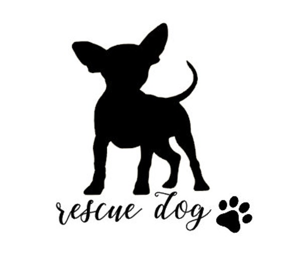 Vinyl Decal,Sticker for Cars,Laptops and more Puppy Custom Text Chihuahua,Dog