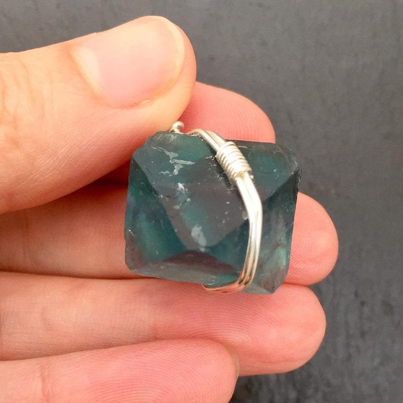 Fluorite Pendant by Maya Canyon
