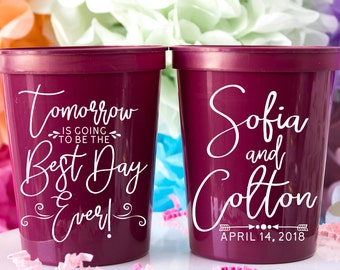 Wedding Favors Rehearsal Dinner Wedding Rehearsal Favors Weddings Rehearsal Dinner Cups Mood Cup 1676 Fun Cups Color Changing Cup