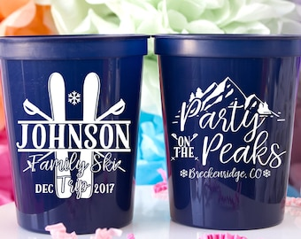 Colorado Wedding Favors for Guests Destination Wedding Party on the Peaks Mountain Wedding Family Reunion Ski Trip Wedding Welcome Bag Favor