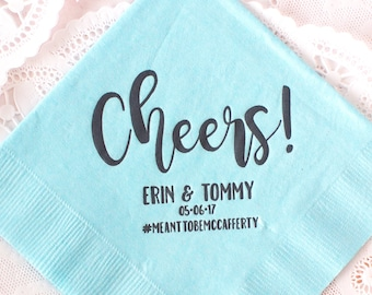 Personalized Napkins, Cocktail Napkins, Wedding Napkins, Custom Napkins, Beverage Napkins, Monogram Napkins, Wedding Decor, Party Napkins