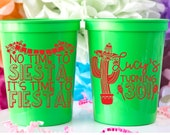 30th Birthday Cups, Personalized Stadium Cups, Mexican Party Cups, Custom Birthday Cups, Fiesta Party Favors, Party Cups For Birthday