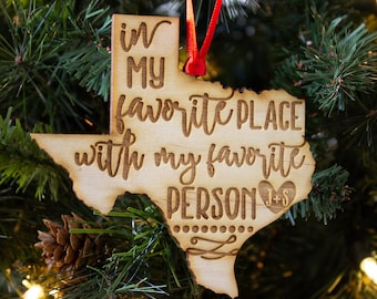 popular items for texas christmas ornaments - Texas Christmas Ornaments