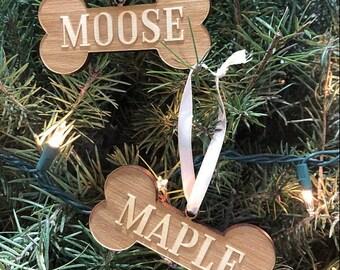 Personalised Wooden Christmas Tree Decoration-Santa bâche-Custom Santa Bâche