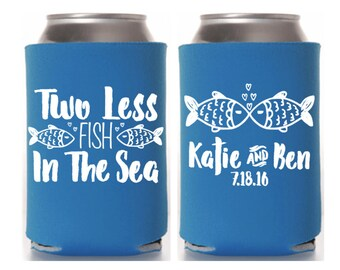 Nautical Wedding, Nautical Can Cooler, Can Hugger, Wedding Can Coolers, Nautical Theme, Nautical Party, Nautical Favors, Anchor Can Cooler