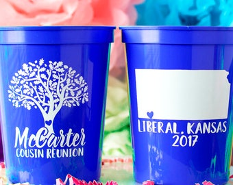 Family Reunion Party, Family Reunion Favor, Family Reunion Gift, Reunion Gift, Family Gathering, Fall Reunion, Custom Cup, Personalized Cup