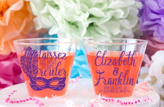 Louisiana Wedding Favor Wedding Cups Nola Wedding New Etsy