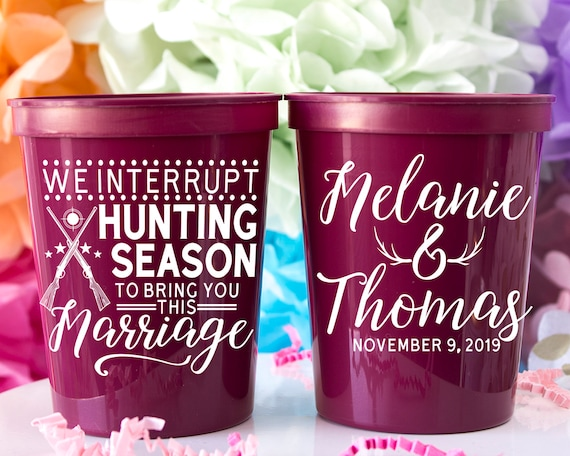 We Interrupt Hunting Season To Bring You This Marriage Personalized