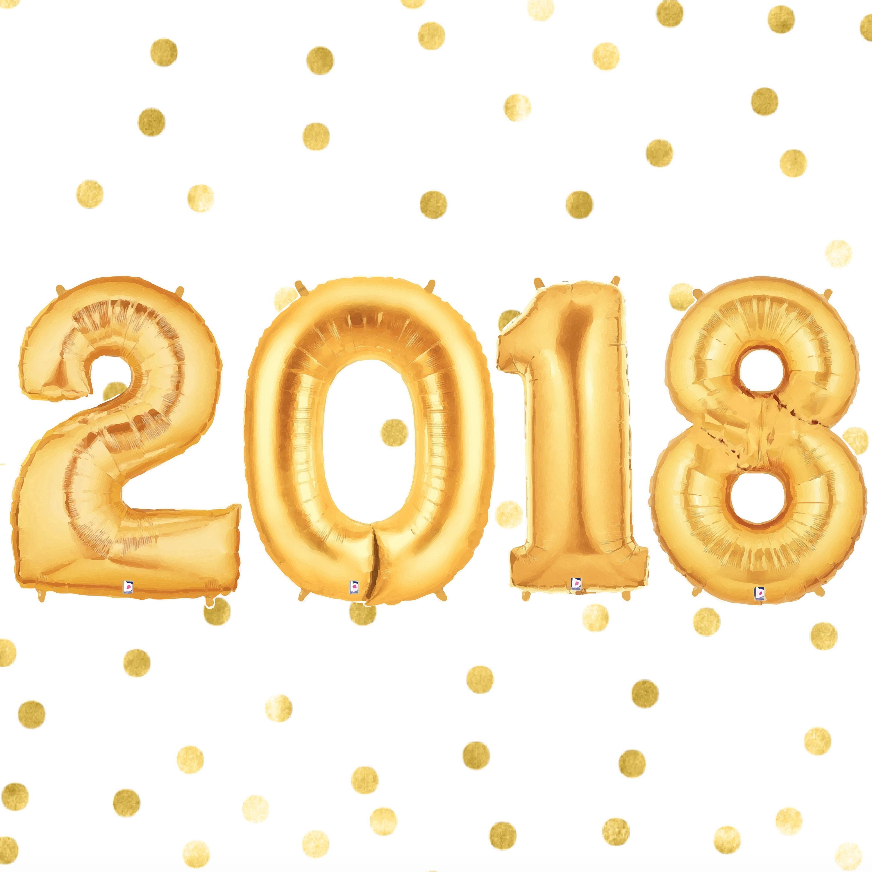2018 ballonnen klasse van 2018 goud ballonnen afstuderen