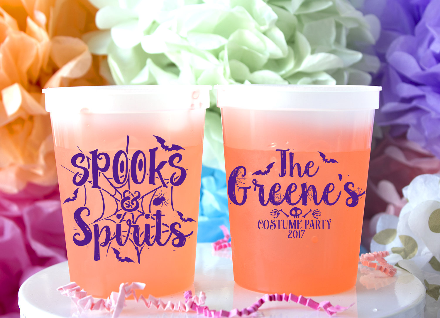 Halloween Cups Halloween Party Favor Color Changing Cups   Etsy