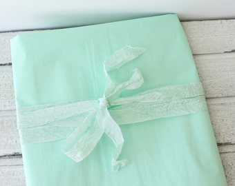Tissue Paper, Mint Green Tissue Paper, Mint Green Gift Wrap, DIY Mint Wedding, DIY Pom Pom, Packaging, Craft Supplies, Mint Wedding Decor