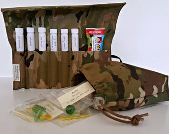 us army deployment gift set multicam military gift army deployment care package personalized gift soldier gift meal improvement kit