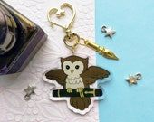 Parker DuofOWLd 2 quot Acrylic Charm Keychain