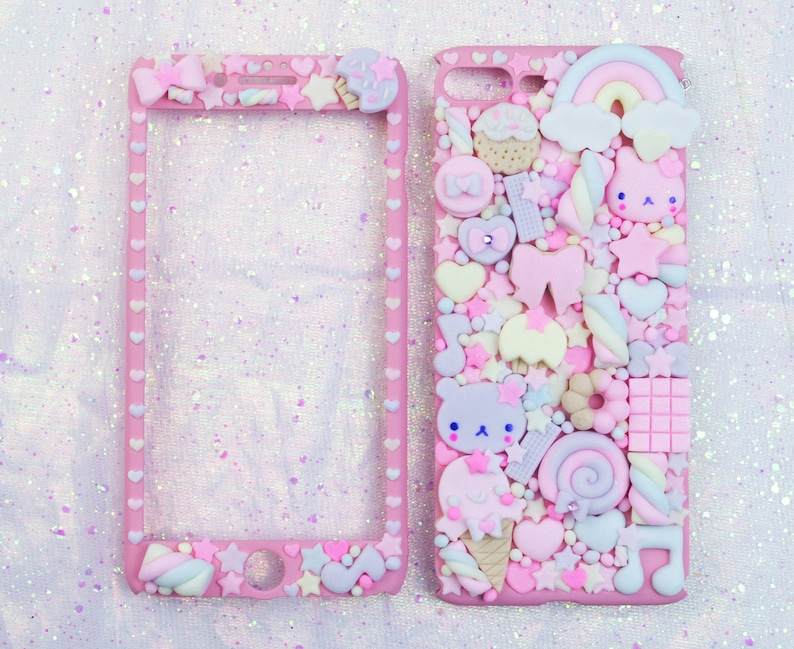 Sweet Cookies Friend Phonecase for Galaxy S9 Plus Kawaii Decoden Phone Case