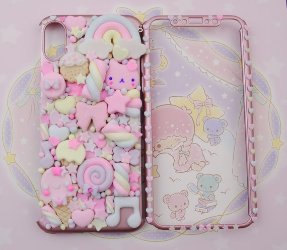low priced 41948 074ac Kawaii Decoden Phone Case, Sweet Cookies Friend Phonecase for Iphone XR