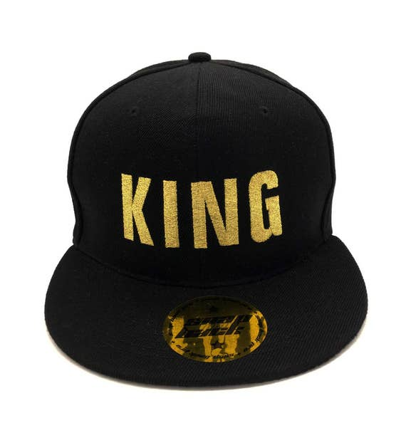 Awesome Embroidered caps lovers and friends KING QUEEN hats baseball snapback quality custom Summer caps hats for couples