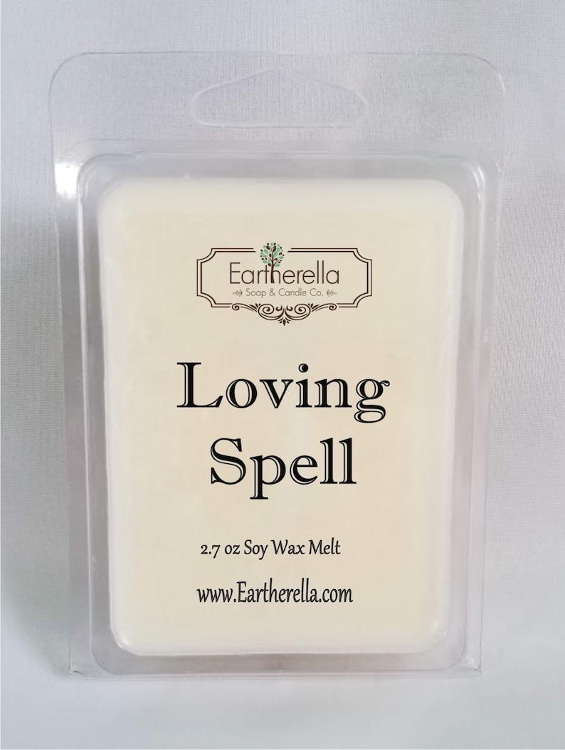 Eartherella LOVING SPELL Natural Soy Wax break-apart tart melts 2.7 oz. stocking stuffer