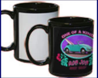 Custom Colored  Photo  Mug 11 oz.