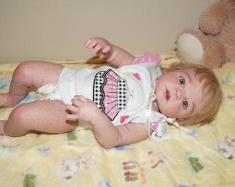 Reborn Baby  Full body Doll Girl
