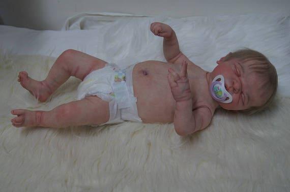 "Reborn Baby Dolls Anatomically Correct 20/"" Washable Full Silicone Vinyl Doll US"