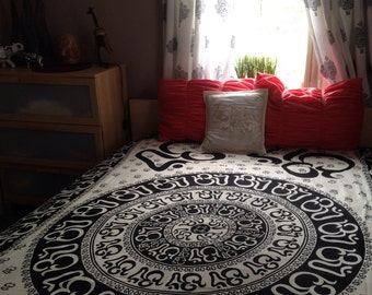 Om chakra beach blanket