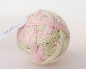 EVIE - vibrant hand dyed self striping sock yarn