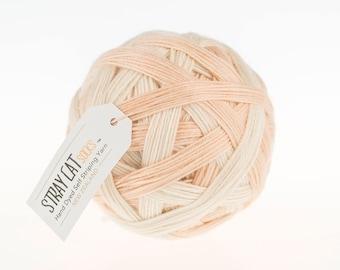 Crème de la crème - vibrant hand dyed self striping sock yarn