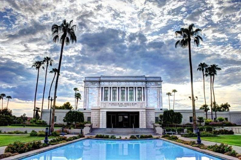 Mesa Temple Mormon LDS Arizona Temple Photo Photography image 0