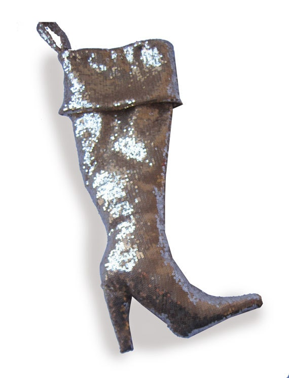 Diva Stiletto Christmas Stocking