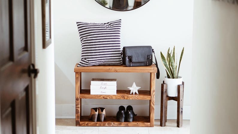 Ordinaire Shoe Rack / Console Table / Entryway Table
