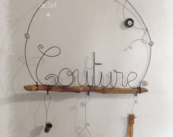 """the """"Couture"""" workshop - in wire and driftwood"""