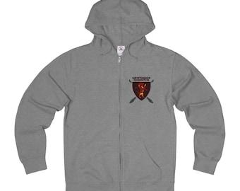 Multi Gryffindor Quidditch Full Zip Sweatshirt