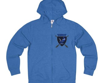 Multi Ravenclaw Quidditch Full Zip Sweatshirt