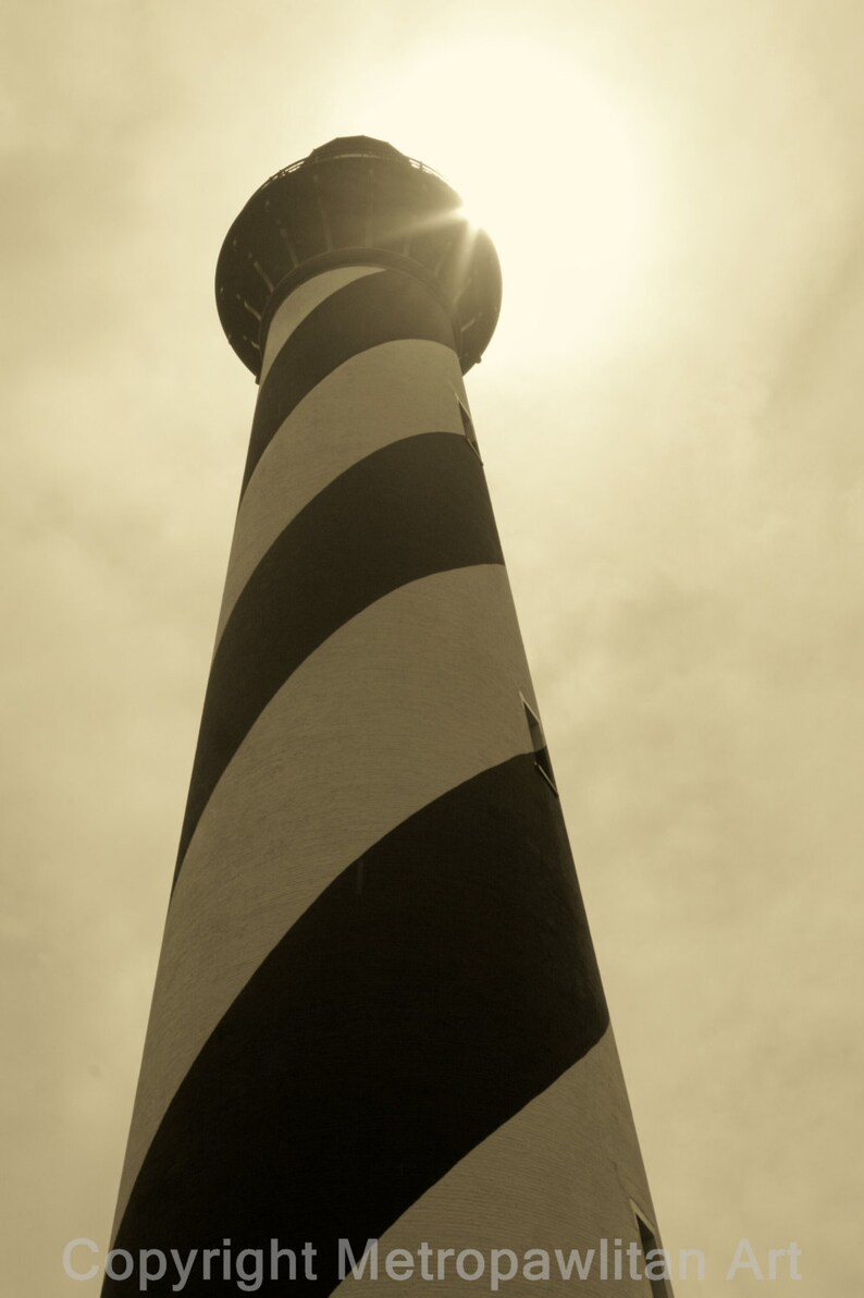 8x10 photograph Cape Hatteras Lighthouse Outer Banks NC in image 0