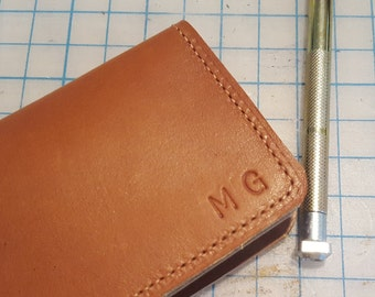 Custom Monogramming / Hand Stamping Leather / Monogramed