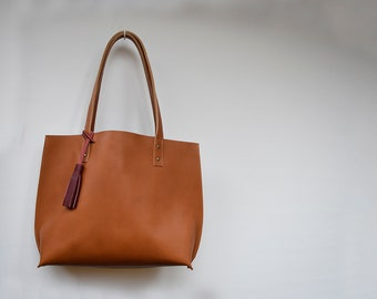 23602aa2f3fd All Day Large Leather Tote Bag   Leather Tote   Leather Bag   Leather  Handbag   Women s Leather tote   Leather Purse   Tote Bag   Handbag