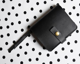 Women's Small Leather Wallet  -  Leather Clutch / Handmade leather wallet