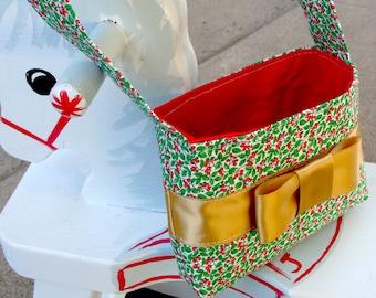 Handmade Toddler Purse. Shirley Margaret Brown Vintage Holly by FanGirl. SuperHero.