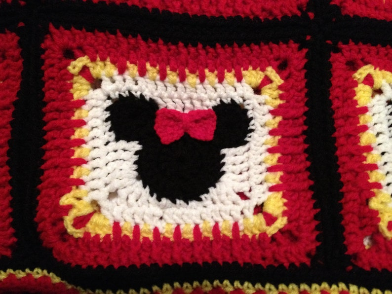 Pattern Minnie Mouse Blanket Great For A Shower Or Baby Etsy