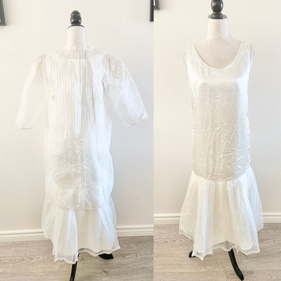 Vintage petticoat dress with tags flesh skin coloured small lace boho grunge stretch body con