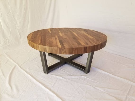 Outstanding Walnut Round Coffee Table Lamtechconsult Wood Chair Design Ideas Lamtechconsultcom