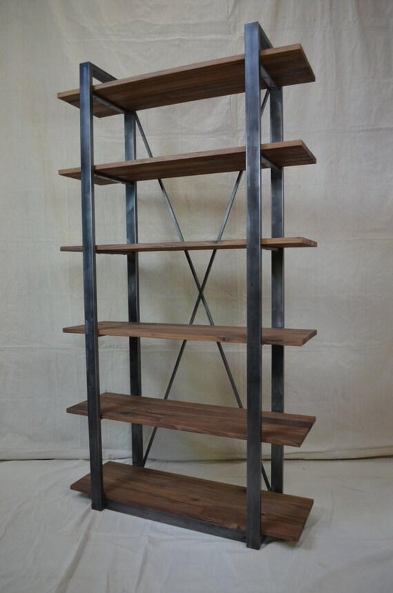 Rustic wire shelf